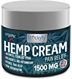 Hemp Cream Pain Relief 1500 mg - Arthritis Pain Cream, Back Pain, Joint Pain Relief Cream Efficient Inflammation Cream- 2oz - Made in USA