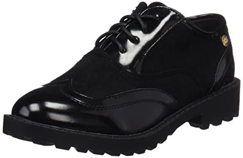 XTI 055124, Zapatos de Cordones Oxford para Niñas, Negro (Black), 37 EU: Amazon.es: Zapatos y complementos