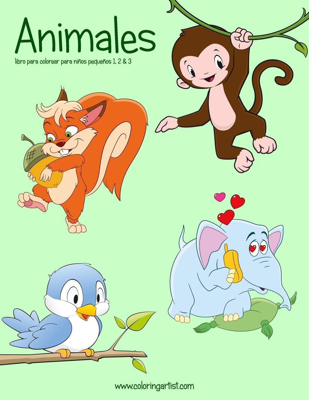 Buy Animales Libro Para Colorear Para Niños Pequeños Animales Para