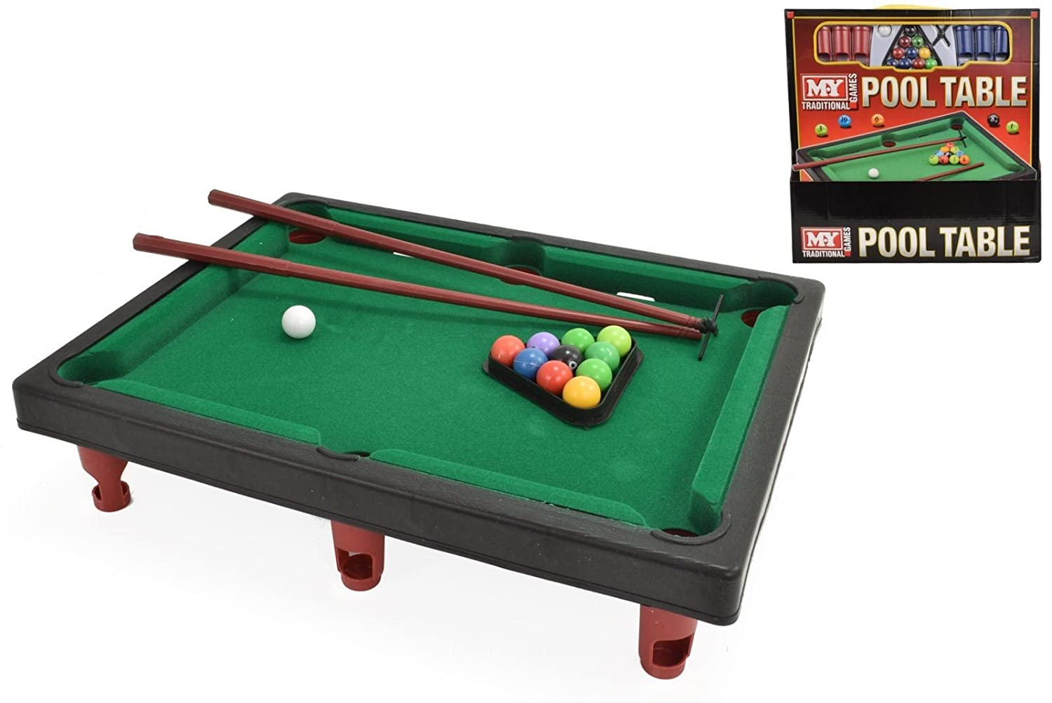Amazoncom My Mini Tabletop Pool Snooker Table Game Set Toy - Buy my pool table