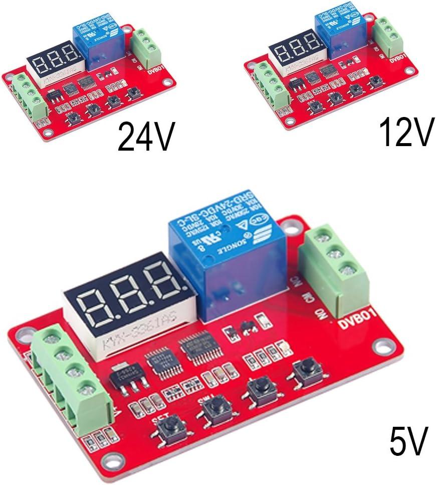 5V DVB01 Digital Display Voltage Comparator Measurement Charge Discharge Module