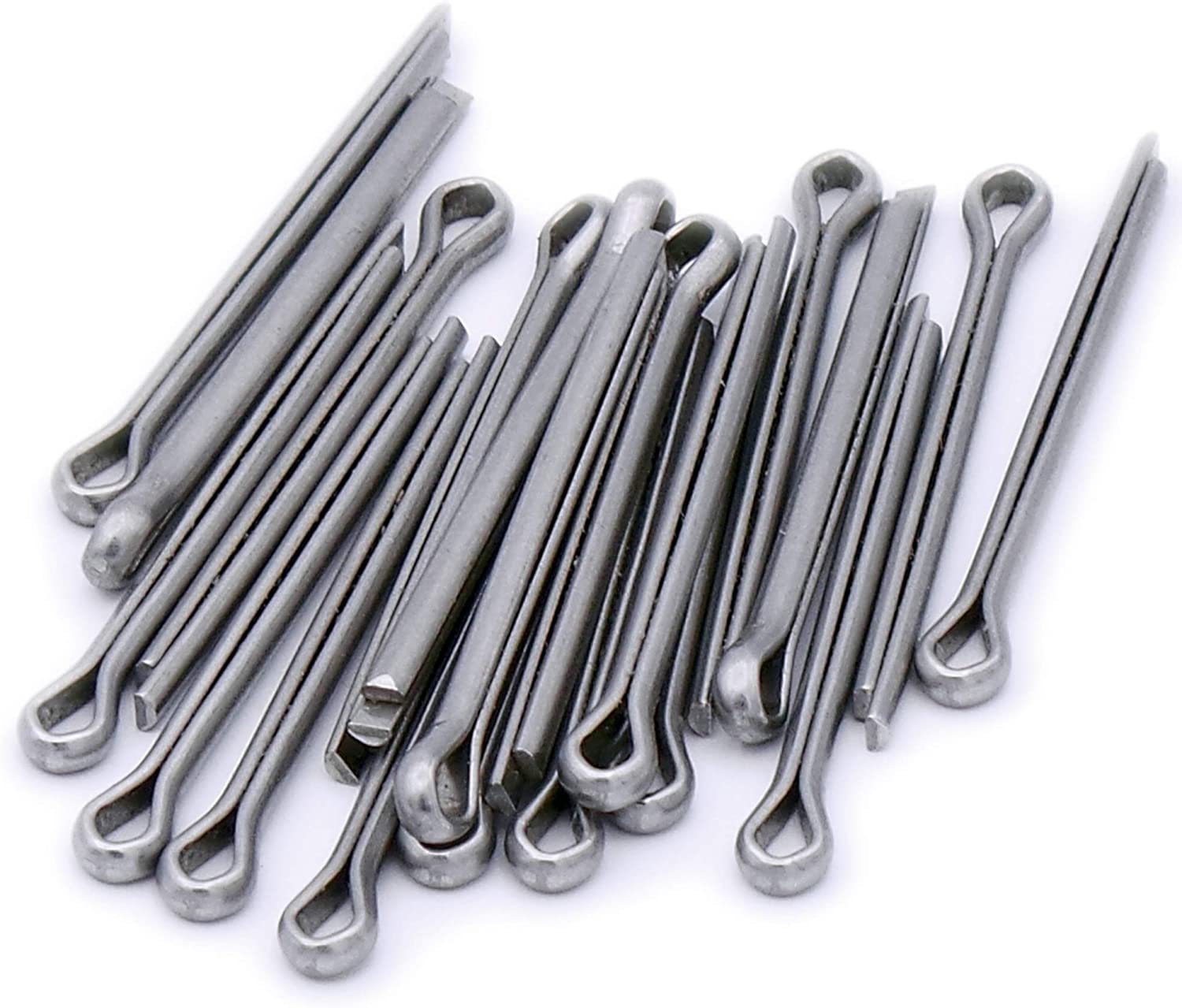 A2 Split Cotter Pin M4 4mm x 28mm Pack of 20 Stainless Steel