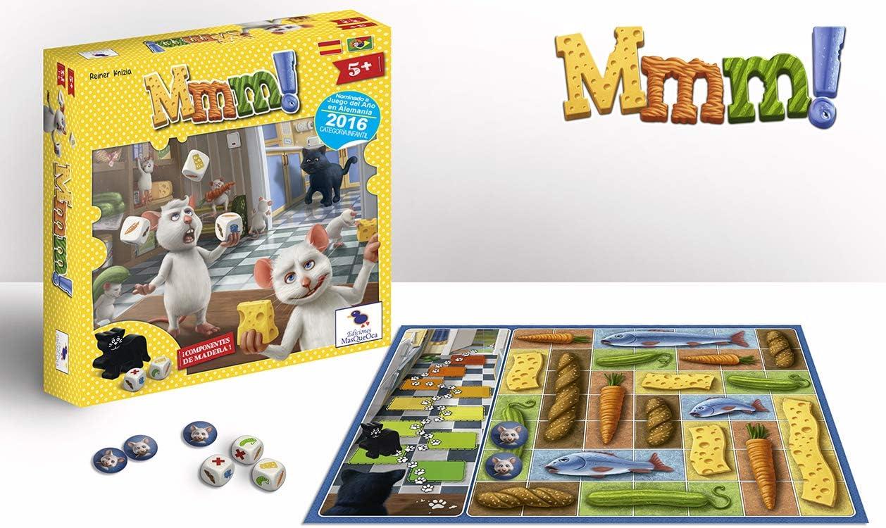 Ediciones MasQueoca - Mmm! (Español)(Portugués): Amazon.es: Juguetes y juegos