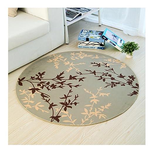Redonda Creative área alfombra IKEA estilo alfombra protectora de ...