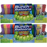 """ZURU Bunch O Balloons, Fill in 60 Seconds, 700 Water Balloons Total, 20"""" Water Balloon Bowl Included-2 Pack"""