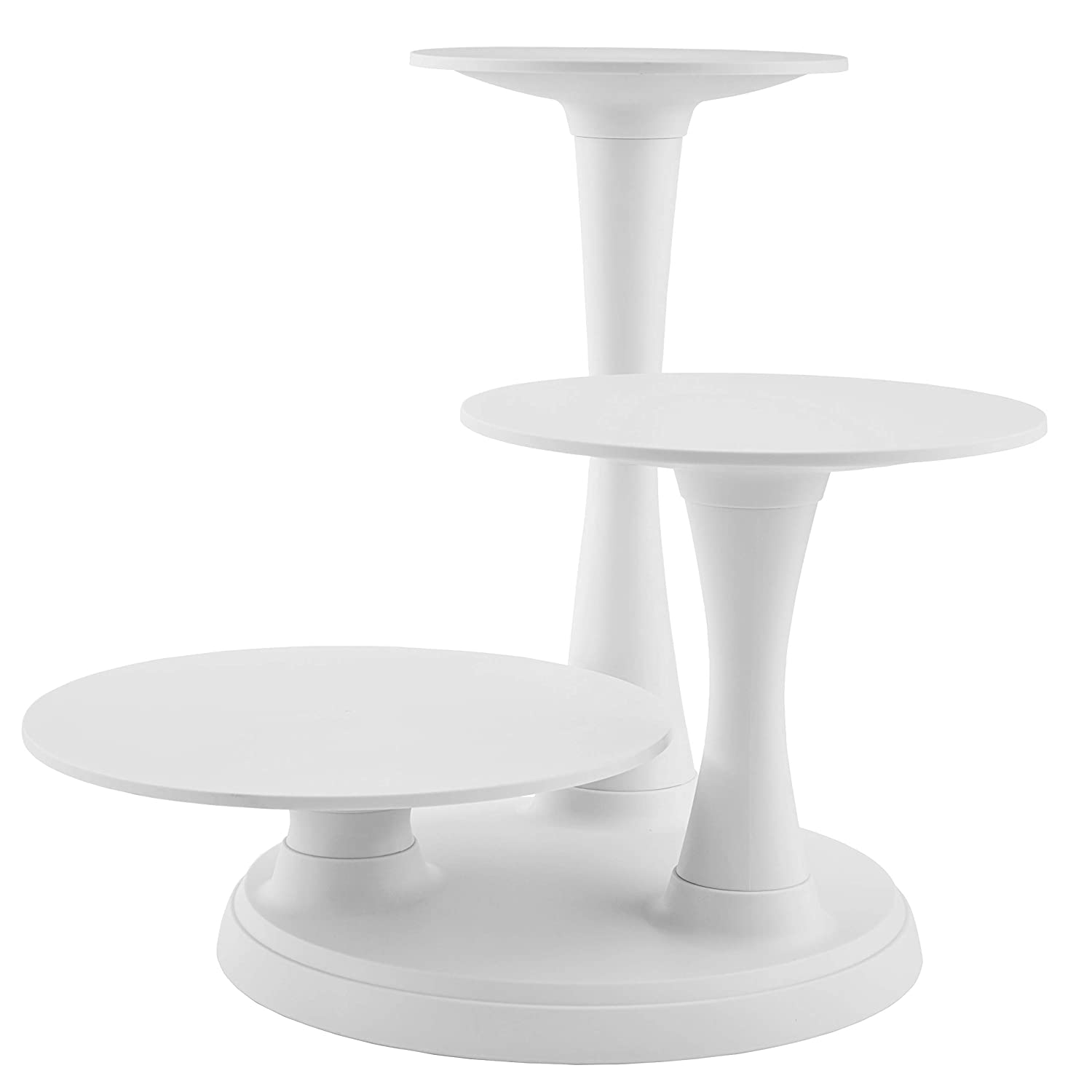 Buy Wilton 3-Tier Pillar Cake Stand Set Online at Low Prices in India -  Amazon.in