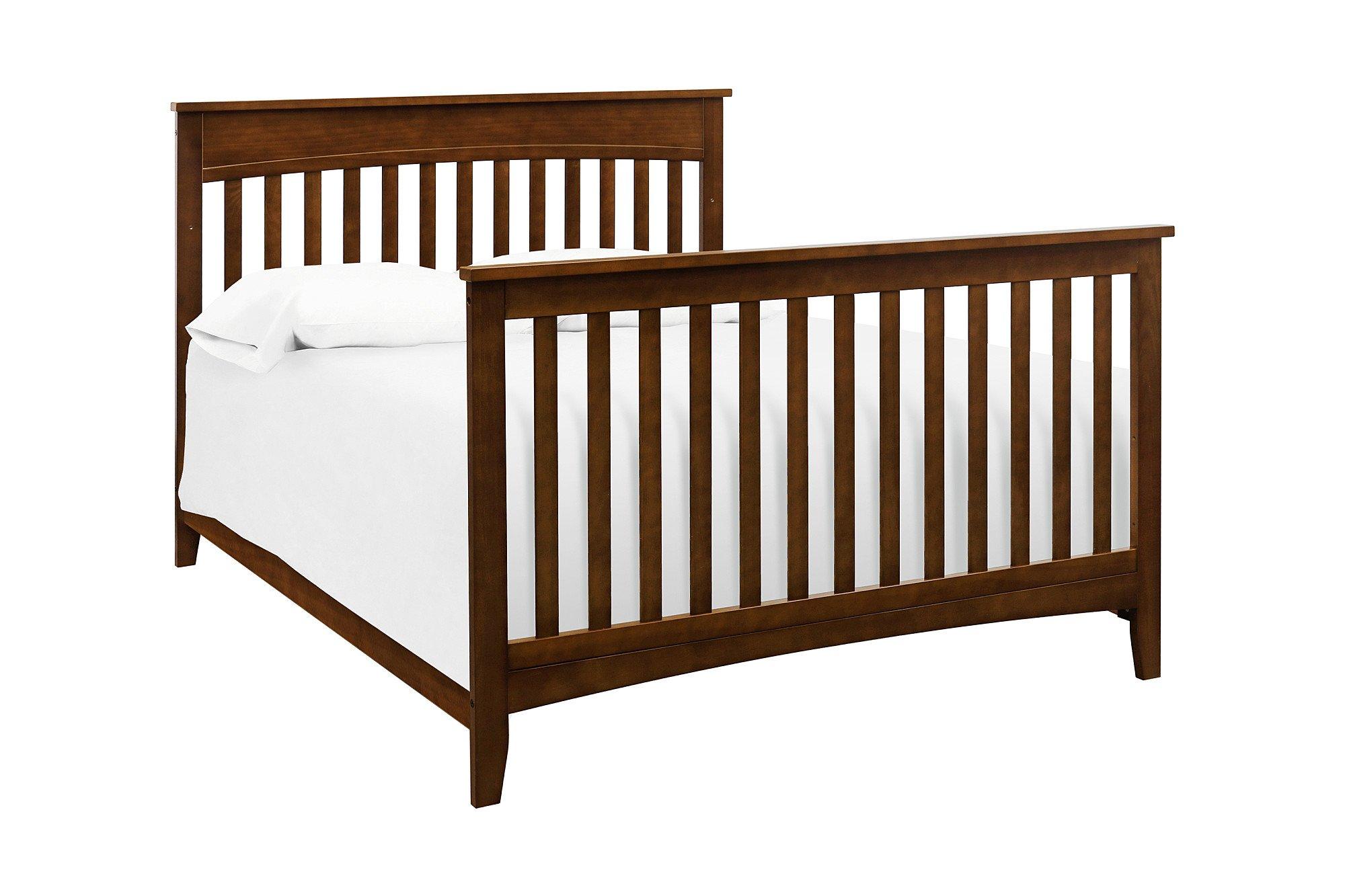 Full Size Conversion Kit Bed Rails for Davinci Grove 4-in-1 Crib - Espresso