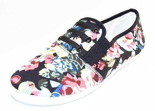 BTS - Mocasines de Lona para mujer, color Varios Colores, talla 40: Amazon.es: Zapatos y complementos