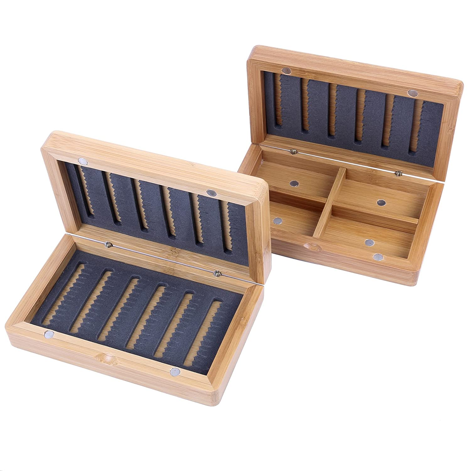 Maxcatch Bamboo Fly Box Fly Fishing for Tenkara Flies(model A)