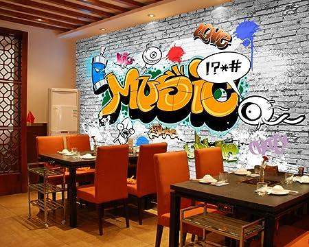 Graffiti Für Kinderzimmer   Yosot Graffiti Tapeten Custom 3d Graffiti Kinderzimmer Wandbild