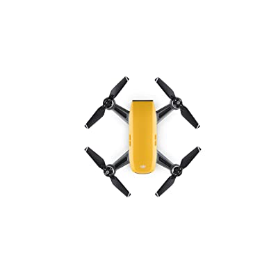 DJI Spark, Mini Drone, Sunrise Yellow: Camera & Photo