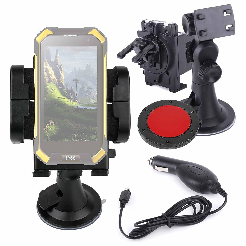 DURAGADGET 3 En 1 Soporte para Smartphone Blackview BV6000: Amazon ...