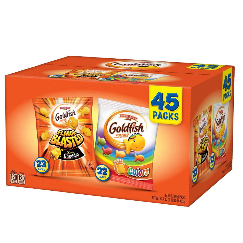 Pepperidge Farm Goldfish 45.9 Ounce (Variety Pack, 45 Ct)