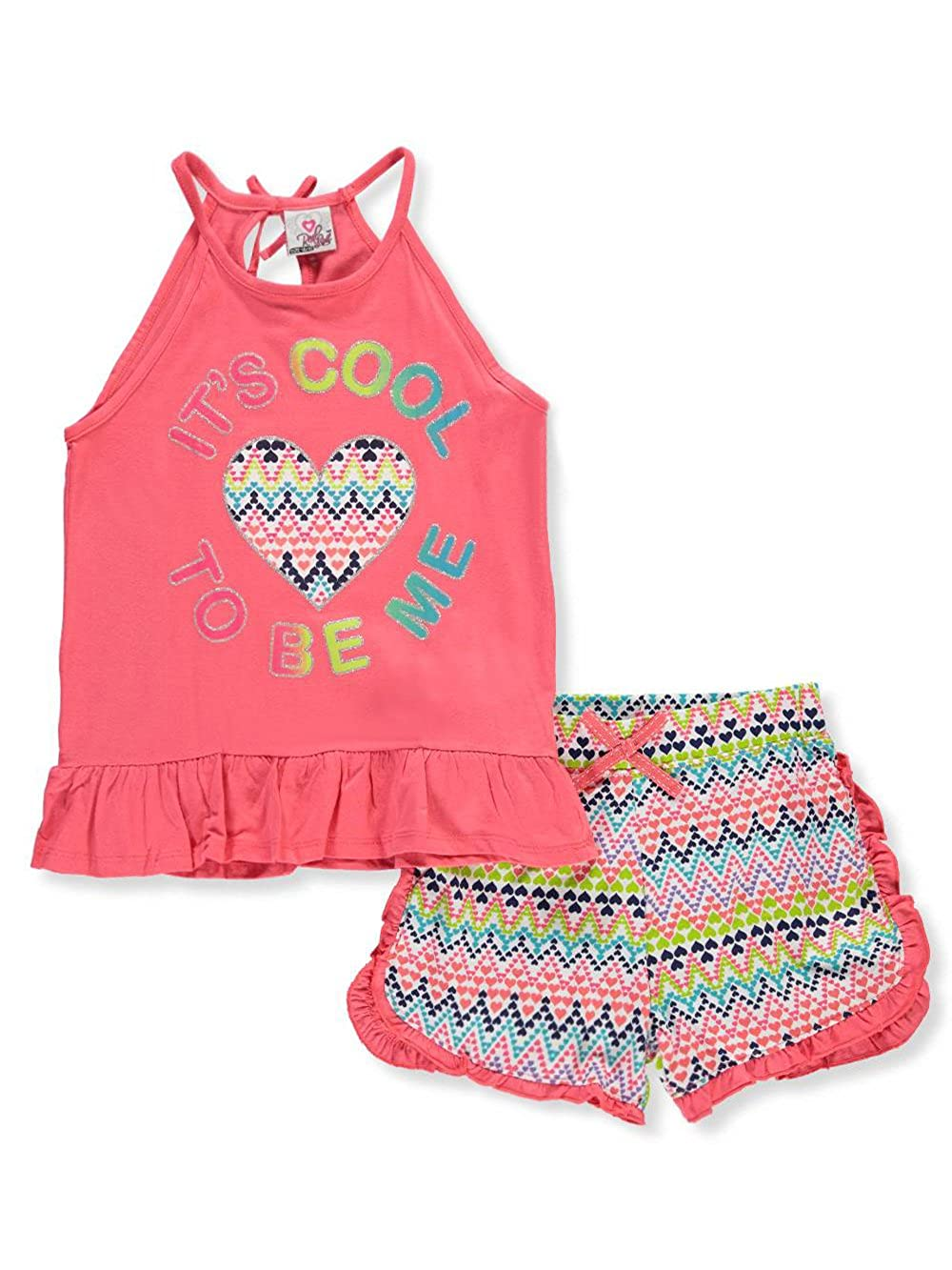 Real Love Girls 2-Piece Short Set Outfit