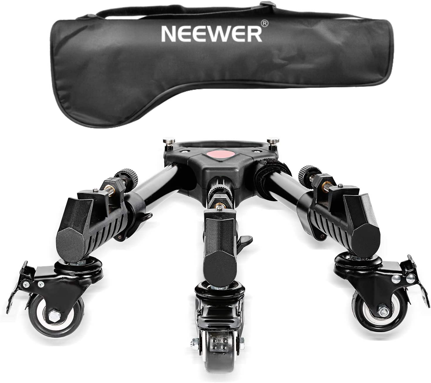 Neewer - Fotografía Professional Heavy Duty Trípode Dolly con ...