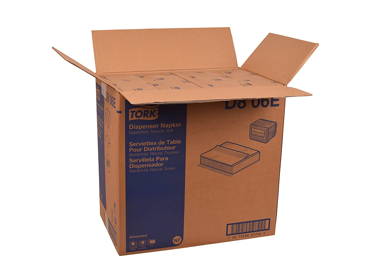Amazon.com: Tork D806E Advanced Soft Masterfold Dispenser Napkin, 1-Ply, 17.0