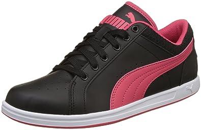 Puma Women s Black-Paradise Pink Sneakers-7 UK India (40.5 EU ... 0788211ac
