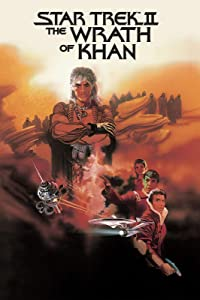DAYNIELAB Star #Trek Ii The Wrath of Khan Movie Poster 1982 Poster Wall Art Home Decor Gifts for Lovers Painting