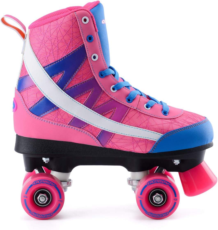 Osprey High Top Quad Skates Fly Knit Roller Skates