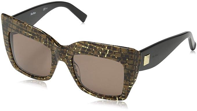 Max Mara Gem 1 Co Fsc 51 Gafas de sol, Negro (Fabric Black ...
