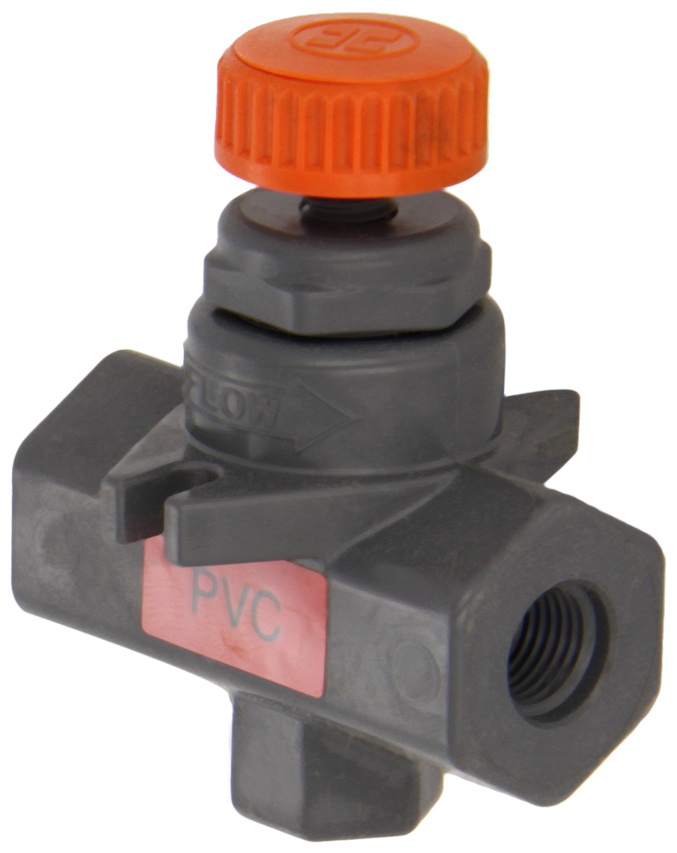 Hayward NVA1025T Series NVA Needle Valve, Threaded End, PVC, 1/4'' Size