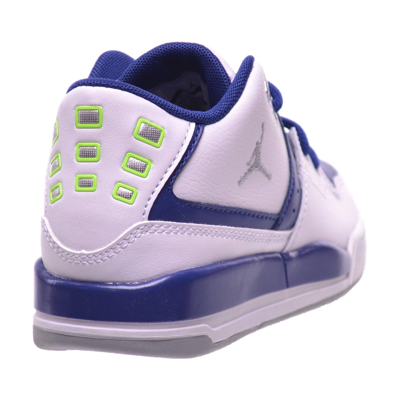 Jordan Flight 23 BP Preschool Little Kids Shoes White//Grey-Insignia Blue//Ghost Green 317822-118