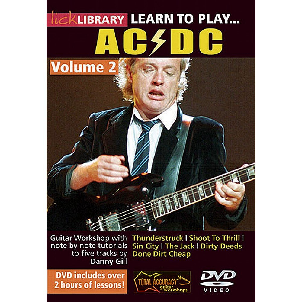 Lick Library: Learn To Play AC/DC - Volume 2. Para Guitarra ...