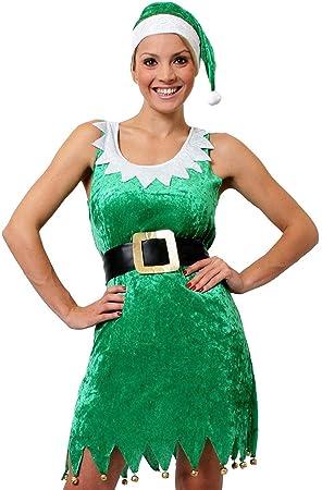 I LOVE FANCY DRESS LTD Disfraz DE Elfo Sexy para Mujer Conjunto ...