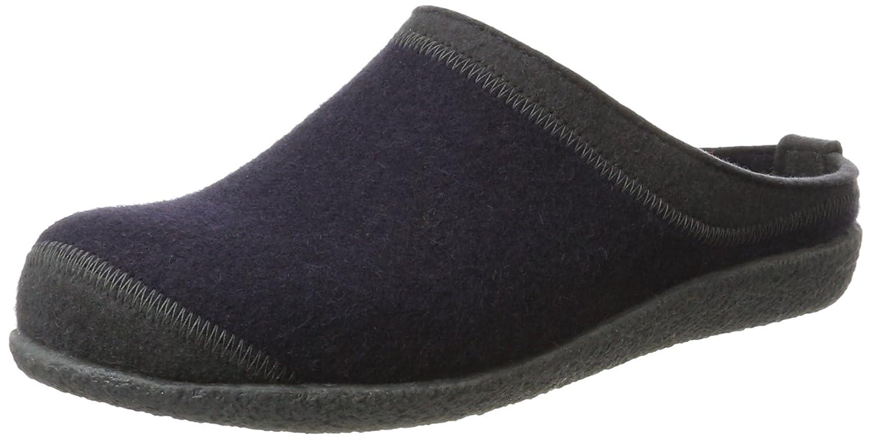 Haflinger Blizzard Flax, Zapatillas de Estar por Casa Unisex Adulto 40 EU Azul (Mittelblau 70)