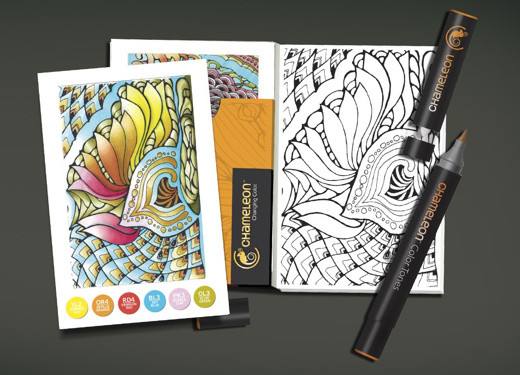 Camale/ón Art Productos camale/ón Cartas de Colores