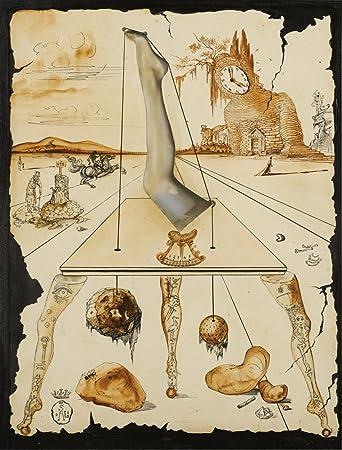 Salvador Dali Printemps Nécrophilique Giclee Canvas Print Paintings Poster Repro