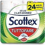 Scottex Tuttofare, Due Lati Diversi, 24 Maxi Rotoli