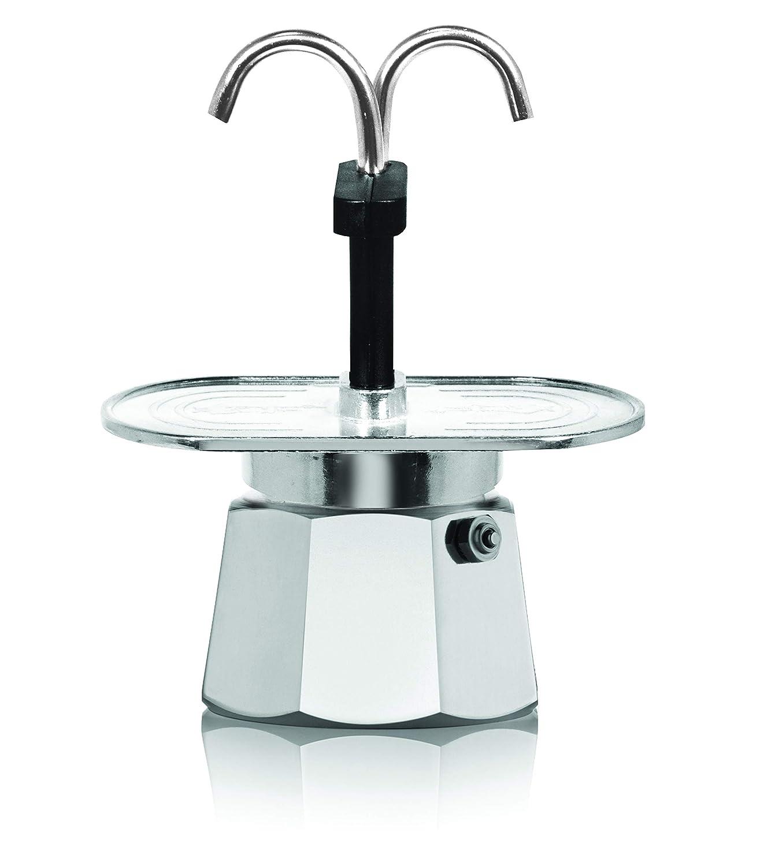 2-Cup Bialetti 06973 Mini Express Stovetop espresso percolator Aluminum