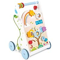 Le Toy Van - Petilou Wooden Ride On Deer Push Along Toy For Toddlers | Wooden Push Along Baby Toy | Suitable For Boy Or…