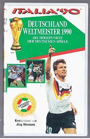 Fussball Wm 90 Hohepunkte Der Deutschen Spiele Vhs
