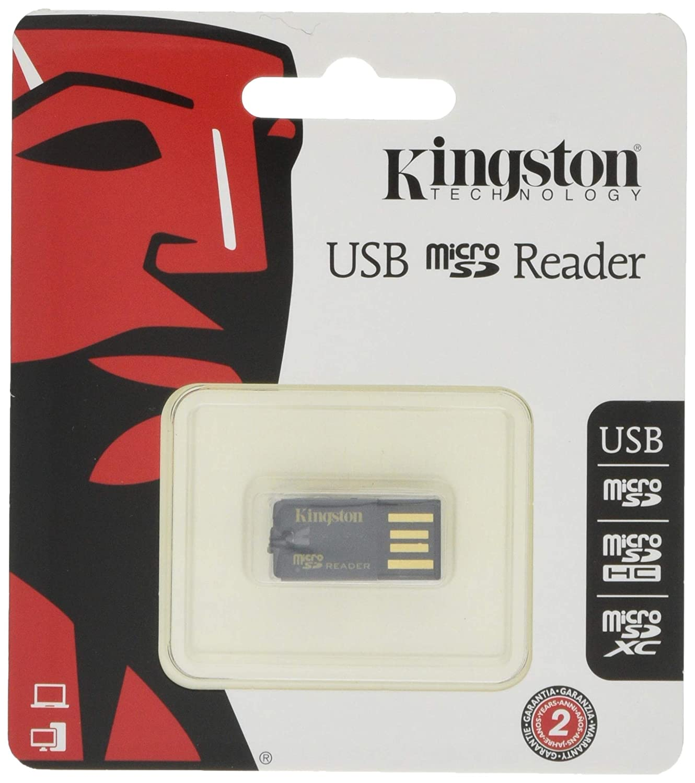 Kingston FCR-MRG2 - Lector Micro SD (USB 2.0), Negro: Amazon.es ...