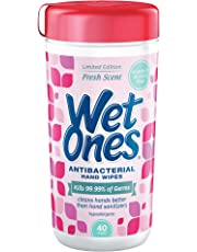 Wet Ones Antibacterial Hand Wipes - Fresh Scent: 40 Count Canister