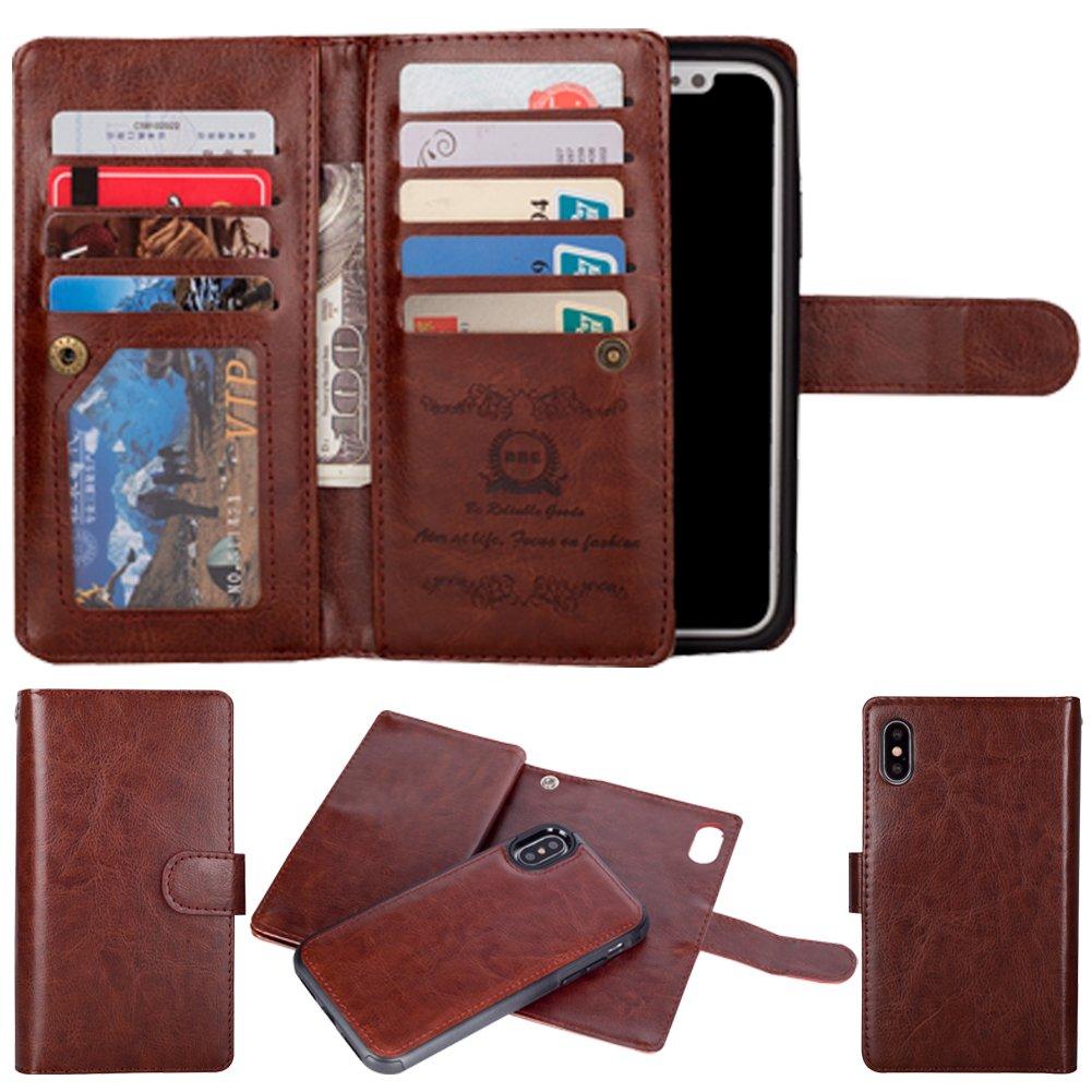 カードウォレットケース(3 & 9 ) iPhone 6S/6 ブラウン 9Card-ip6g-Brown B01DILW5N2 iPhone 6S/6|ブラウン ブラウン iPhone 6S/6