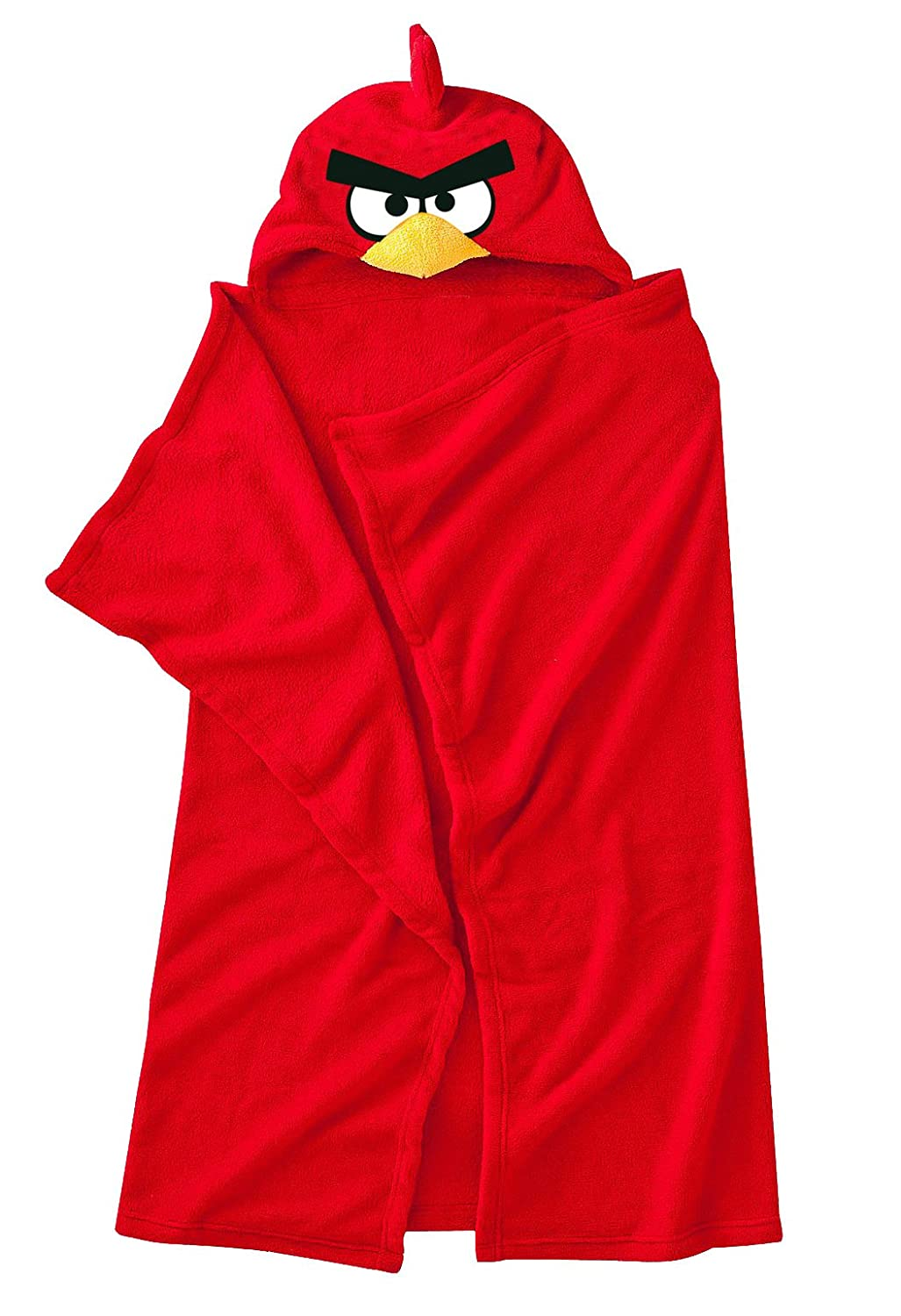 Angry Birds Hooded Fleece Blanket, Red Dreamtex Ltd HF2-ANG-RED-12