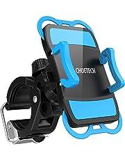 CHOETECH Soporte Celular para Bicicleta Soporte Universal Celular de Bicicleta y Motocicleta para iPhone 8/8 Plus/X/7/6, Galaxy 8/S7/S7 Edge/ S6, Huawei Smartphone, GPS y Otros Dispositivos