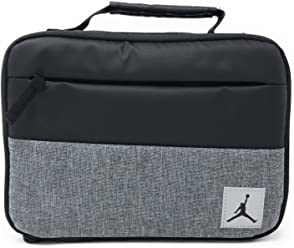 Nike Jordan Kids Pivot Insulated Lunch Box, Black