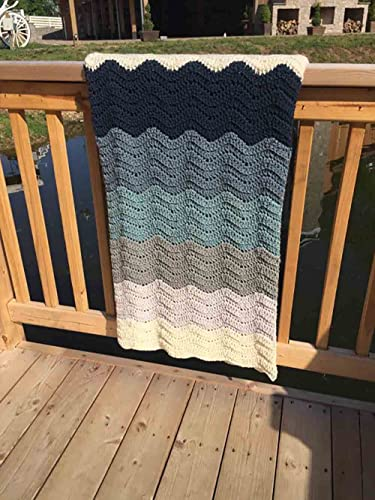 Amazoncom Crochet Pattern Blanket Wedding Gift Colors Crochet