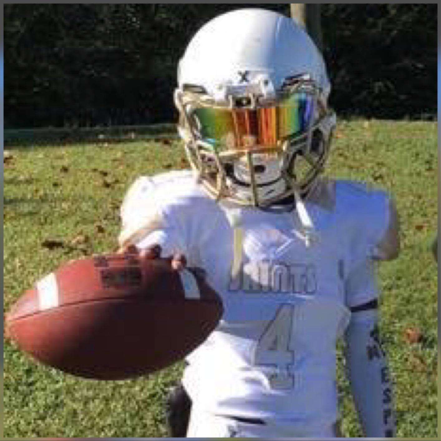 5aef97ba78ab COLORED Football Visors by EliteTek - Fits Youth   Adult Helmets ...