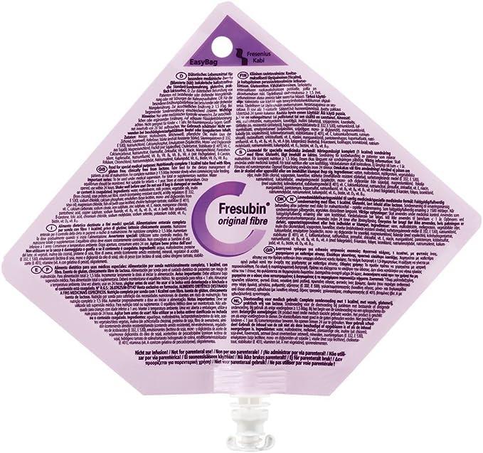 FRESUBIN ORIGINAL FIBRA 15 BOLSA 500 ML: Amazon.es: Salud y ...