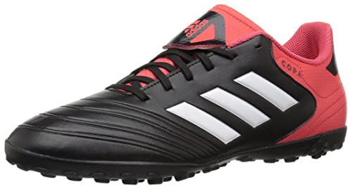 newest cc8e4 f17a3 Adidas Mens COPA Tango 18.4 TF Soccer Shoe, core BlackWhiteReal Coral