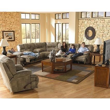 Astonishing Amazon Com Catnapper Voyager Reclining Sectional Set Ibusinesslaw Wood Chair Design Ideas Ibusinesslaworg