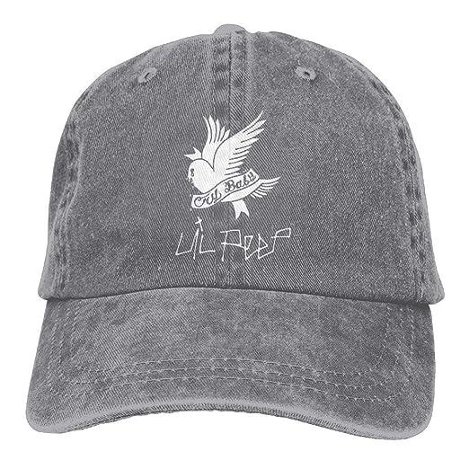 1a3ae48f631 Amazon.com  Lil-PEEP Unisex Baseball Cap  Clothing