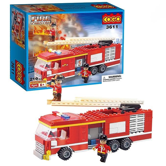 3 opinioni per Cogo City 3611C- set di mattoncini giocattolo assemblabili per costruire