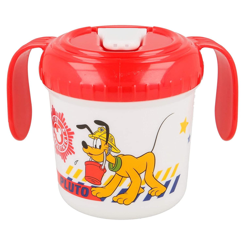 Elemed 44085 Kleinkind-Trainingsbecher Mit Micky Maus Und Pluto Mehrfarbig