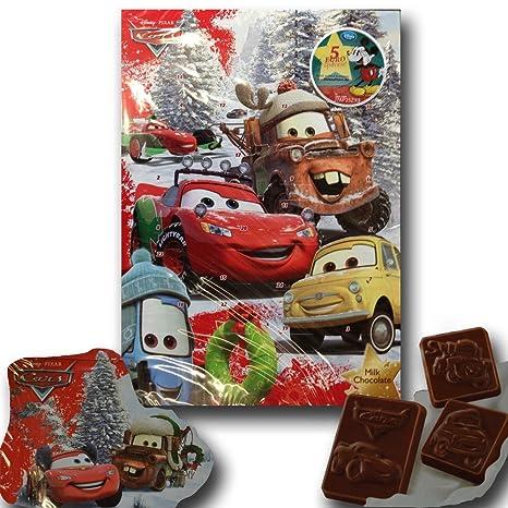 Cars Weihnachtskalender.Cars Adventskalender Schokoladen Adventskalender Amazon De